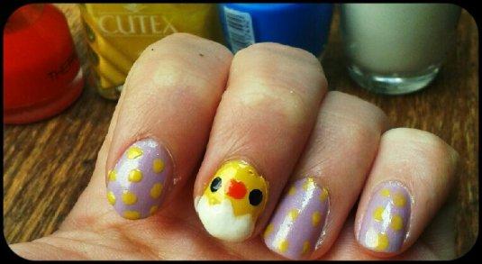 Easter nail fun!